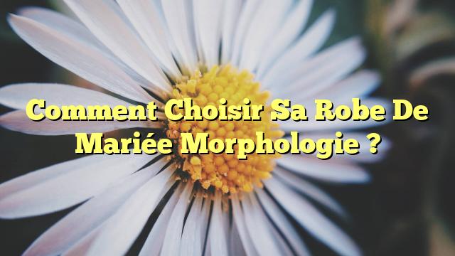 Comment Choisir Sa Robe De Mariée Morphologie ?