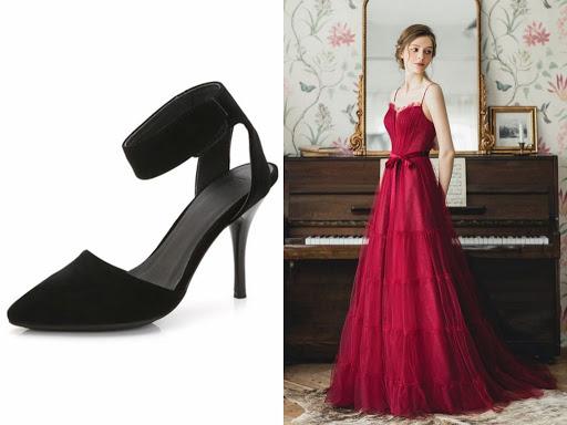 Quelles Chaussures Avec Une Robe Rouge ?