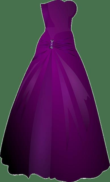 Robe paillette