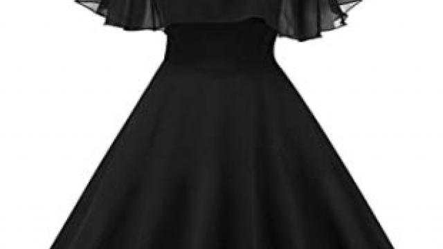 Que Mettre Sur Une Robe Noire Sans Manches ?